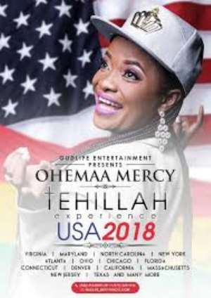 Ohemaa Mercy Takes Tehillah Experience To US, Europe
