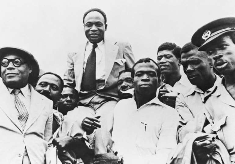 The birthday of Kwame Nkrumah (top) on 21 September remains a public holiday, but its name has changed