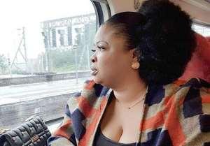 Nollywood Actress, Dayo Amusa Enjoying her UK Vacation