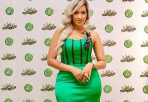 Ghanaian Actress, Juliet Ibrahim Slays in GLO Colour (photos)