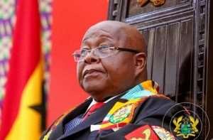 Speaker Prof. Oquaye Pays Tribute To J.H.Mensah