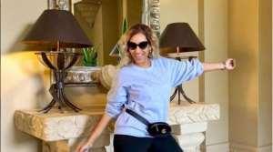 Actress, Juliet Ibrahim Puts up Fresh Thighs in the Open (photos)
