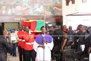 J.H. Mensah Begins Final Journey Home