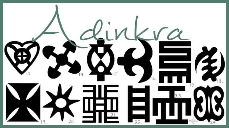 Adinkra Abokes3m 3na 3mu Asekyer3 - History of Adinkra & Its