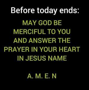 WordDigest: The Mercy Of God