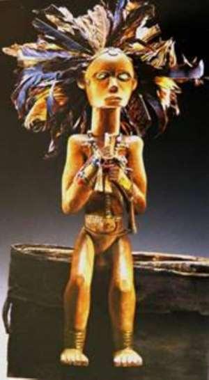 Byeri, guardian of ancestral relics, Republic of Congo, now in Bode Museum, Berlin on the way to Humboldt-Forum, Berlin.