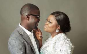 Actress, Funke Akindele Celebrates 2nd Year Wedding Anniversary