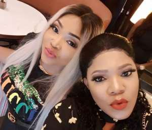 Nollywood Actress, Toyin Abraham Steps out with Mercy Aigbe