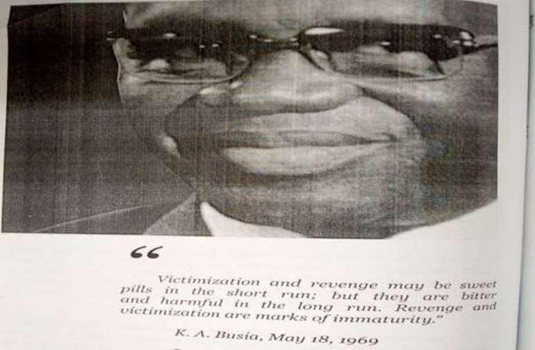 credit K. A. Busia – Symbol of Democracy – Anana Agyei