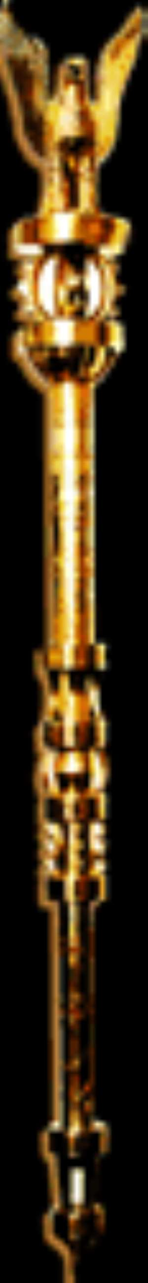 The Mace, the symbol of Parliament's authority