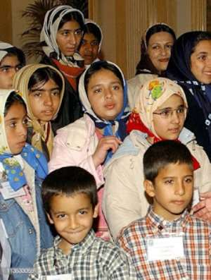 Orphans in Iran