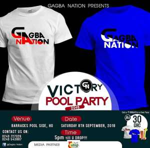Gagba Nation Victory Party Sets to Roll on September 8