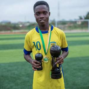 Talent Tavern: Great Somax Wonder Kid Mathew Kudjo Emerges Star At Baby Jet U16 Tourney