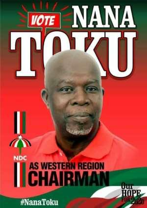 NDC Polls: 'Chairman Tsunami' wins big