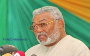 Rawlings Berates NDC Following Monetisation Of Elections