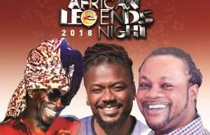 African Legends Night Concert: Kojo Antwi, Daddy Lumba, Samini To Rock Fans