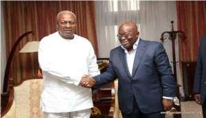 Mahama's Return May Lead to Nana Addo's Aggrandizement