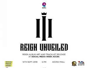 Shatta Wale To Unveil 'Reign' Album Cover & Track list Sept. 14 @Accra Mall