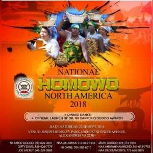 Ga-Dangme Association of Virginia ready for 2018 Homowo Festival this September