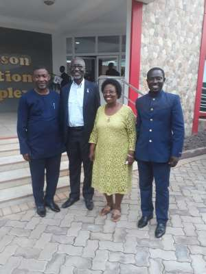 Dr. Lawrence Tetteh Visits Jackson College of Education