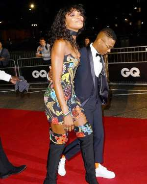 Wizkid, 28 And Super Model, Naomi Campbell, 48 Steps Out  At GQ Men Of The Year Awards