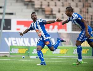 Ghana's Evans Mensah Flying High In Finland