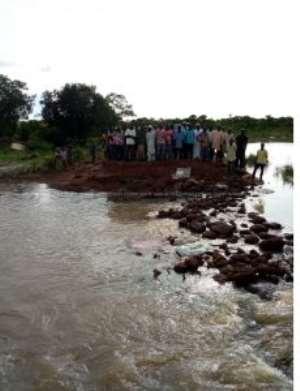 Photos: Floods Cut Off Communities In Karaga
