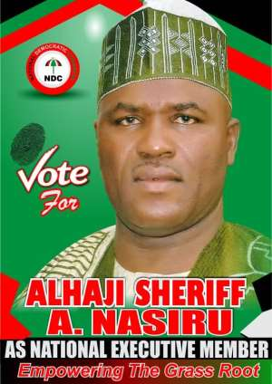 Alhaji Sheriff Abdul Nasiru Files To Contest For National Executive Committee Member Position
