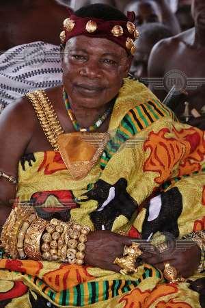 Nana Wiafe Akenten III, chief of Offinso council