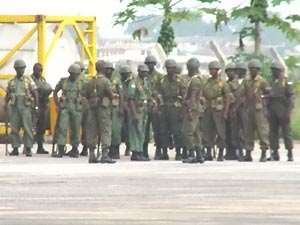Ghanaian Soldiers Not Paid (0)