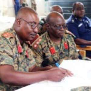 Col. Jackson Wonje Takes Over Operation Vanguard
