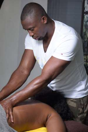 Why This Ghanaian Celebrity Massage Therapist Is Massaging Women's Backside! Don't Judge Yet! Read On!
