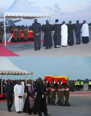 Change Of UN Colours To Ghana Colours