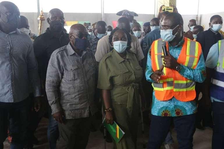 Oti: Akufo-Addo happy with progress of work on Reclying