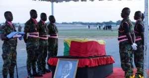 Why Kofi Annan's Casket Was Covered