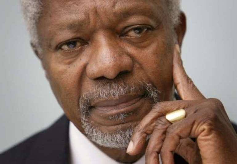Kofi Annan was the first UN chief from sub-Saharan Africa (AFP/File)