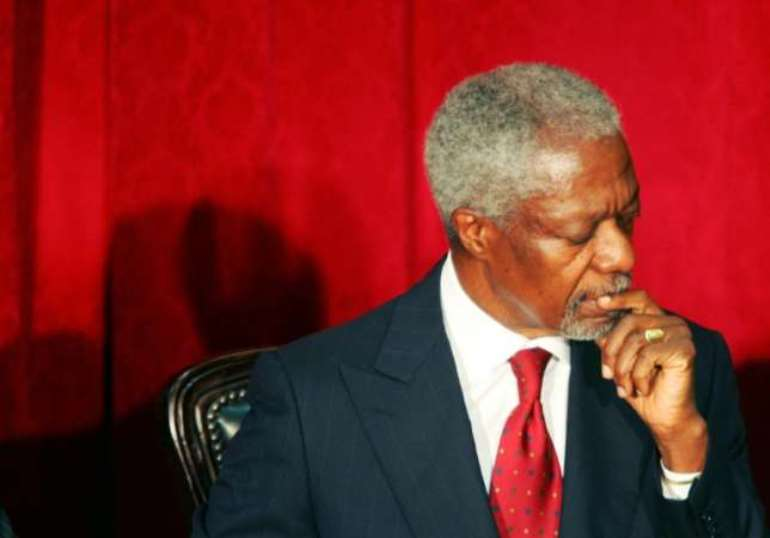 Kofi Annan was the first sub-Saharan African to be Secretary General of the United Nations (AFP/File)