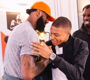 LeBron James Declares Mbappe As The 'Chosen One Jnr'