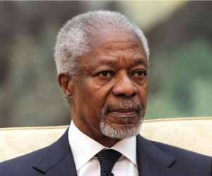 Honouring Kofi Annan: A Tribute By Prof. Nii Boi Tagoe
