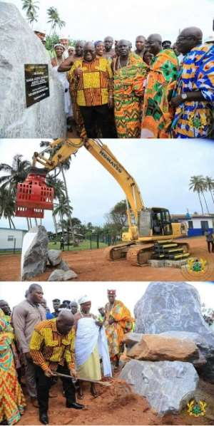 Akufo-Addo Assures Security Personnel Of 40,000 Housing Units