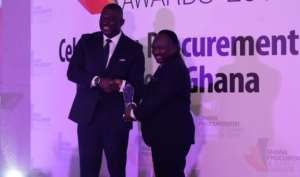 PPA CEO Receives Procurement Man of the Year at GPSCA 2018