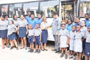 Svani Group supports Soul Clinic School With Bus
