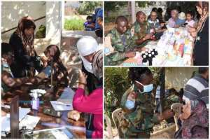 Ghana Battalion In Lebanon Organise Free Medical And Dental Care For Locals