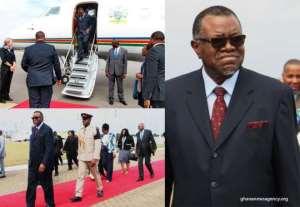 Heads Of State Arrive For Kofi Annan's Burial