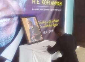 Tribute To Kofi Annan By Young African Leader: We Can't Fail The Next Generation