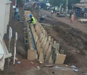Massive Rehabilitation Works Begin On Madina Roads