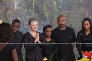 Kofi Annan's Wife, Dignitaries Pay Last Respects Ahead Of Burial
