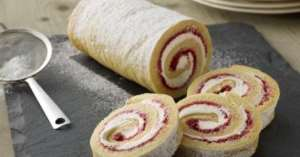 Here's A Simple Method On How To Make Swiss Roll At Home