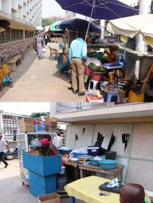 Sanity Returns To Accra Central Library