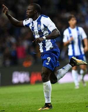 Cameroon Striker Vincent Aboubakar Caught Celebrating His Club Porto's Defeat In UEFA Champions League